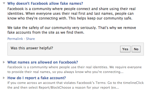 Facebook Tries To Make People Snitch On Their Friends