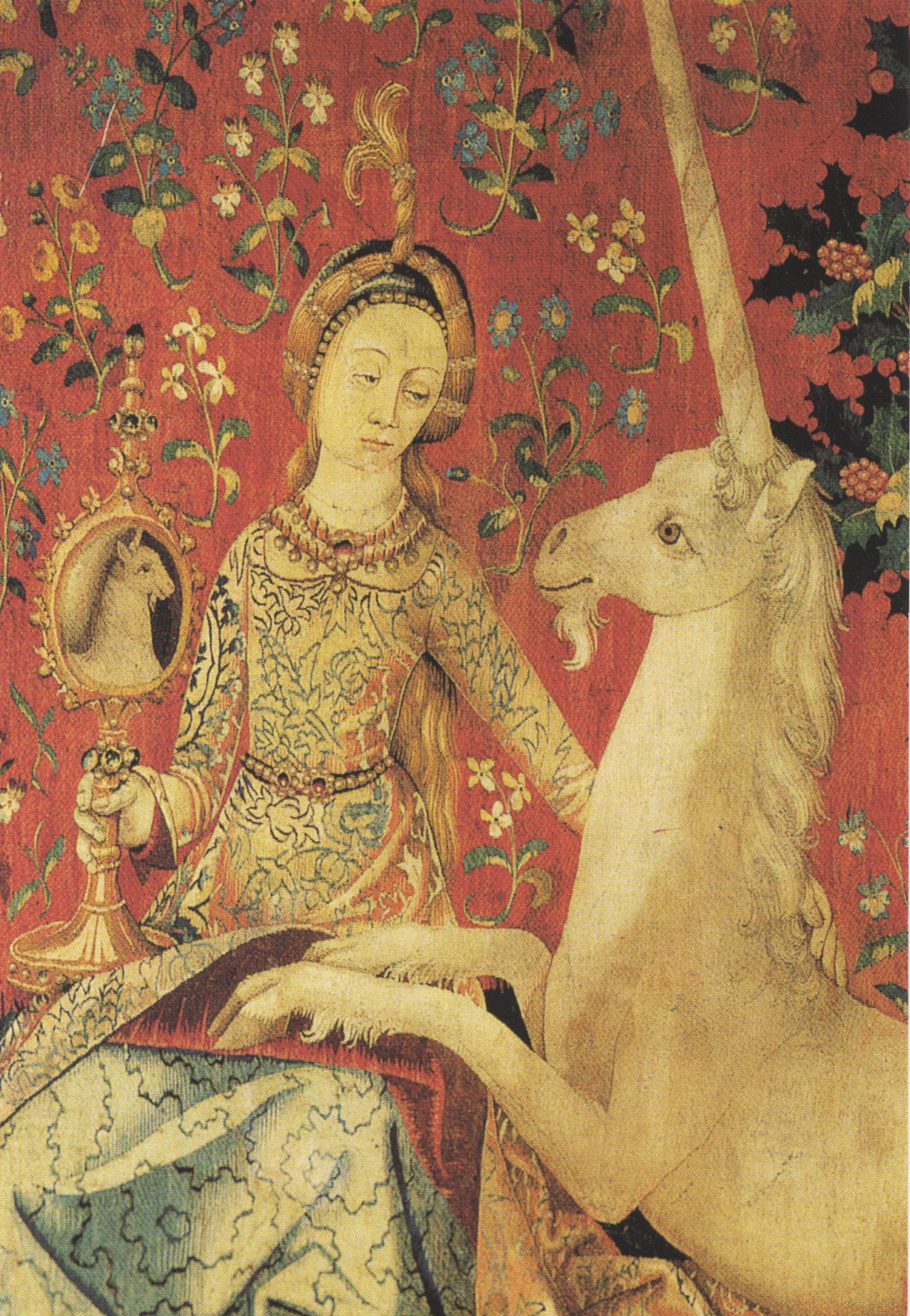 Image result for lady and unicorn