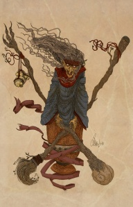 The_Baba_Yaga_by_Samolo