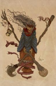 The_Baba_Yaga_by_Samolo