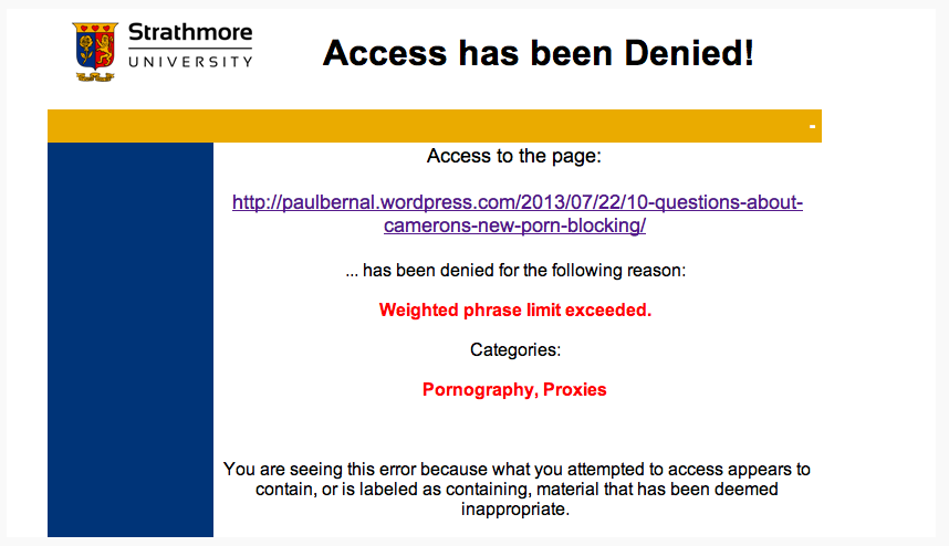 My porn-blocking blog post got porn-blocked!