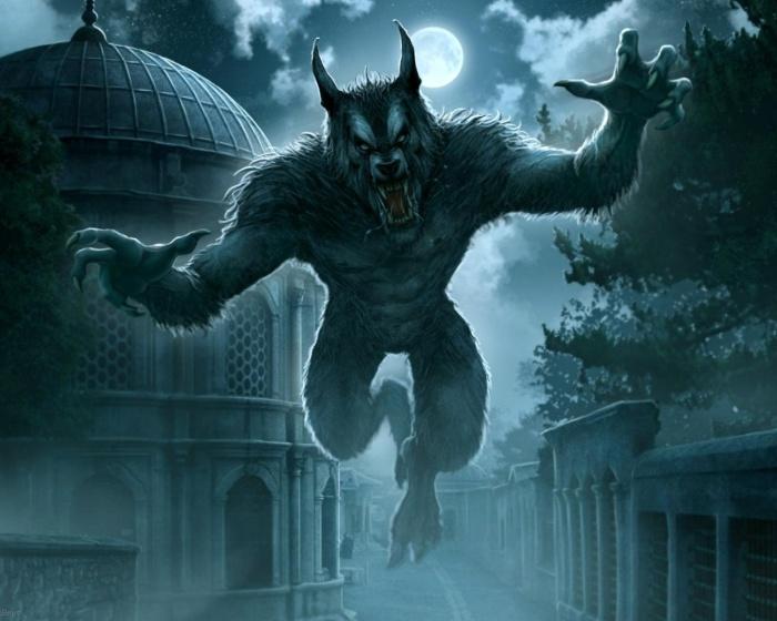 Werewolf attack jump
