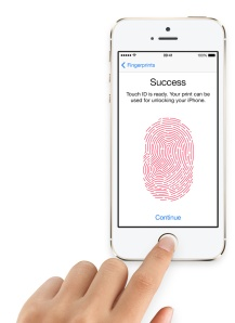 Iphone fingerprint