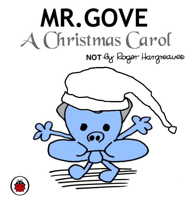 Mr Gove Christmas Carol Cover