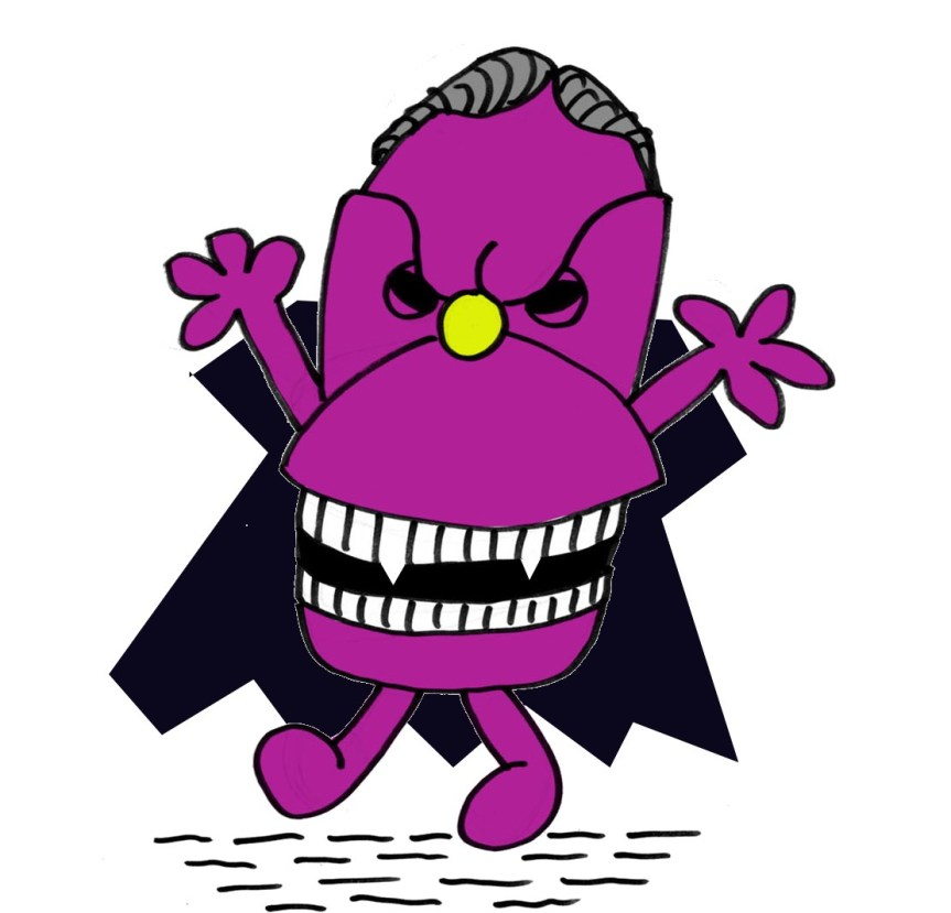 MR BIGOTs Halloween blank