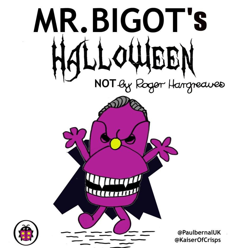 MR BIGOTs Halloween cover