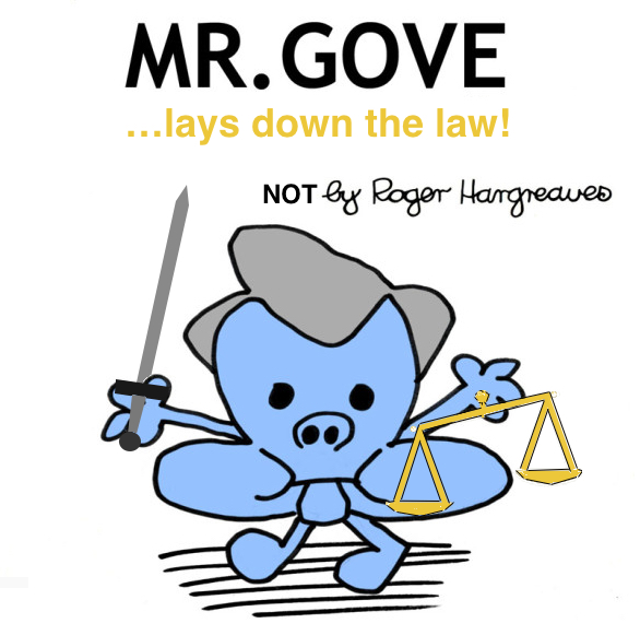 Mr Gove Lays Down the Law cover