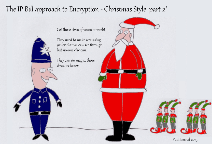 Police Santa cartoon 5