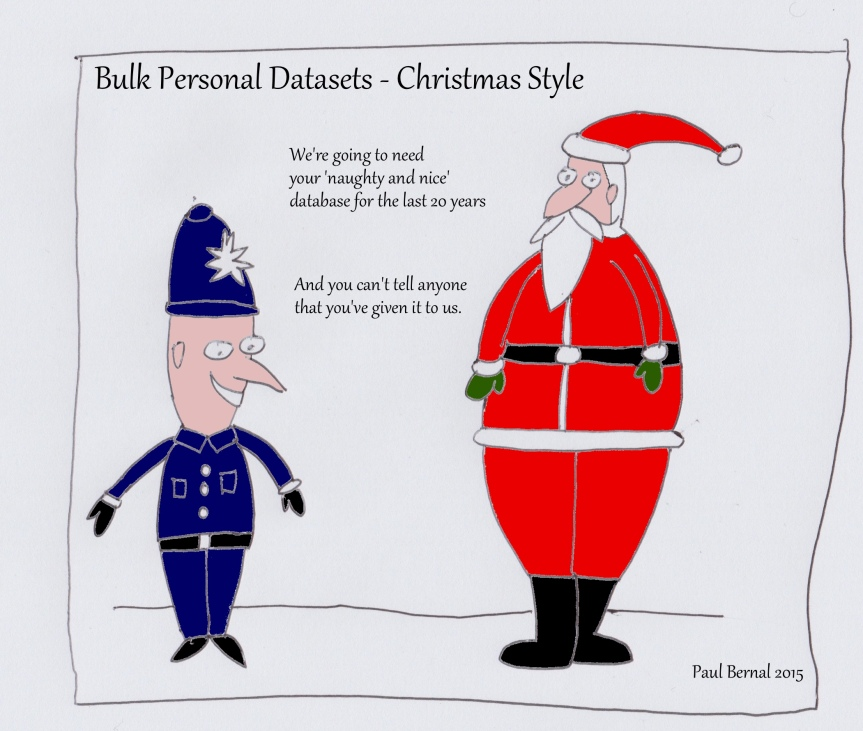 Police Santa cartoon