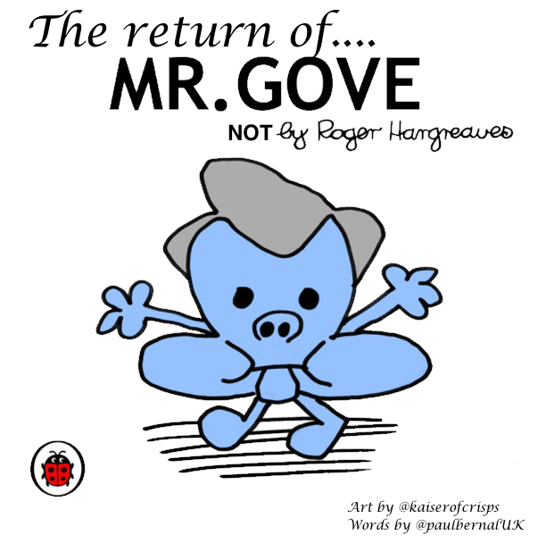 The Return of Mr Gove Cover